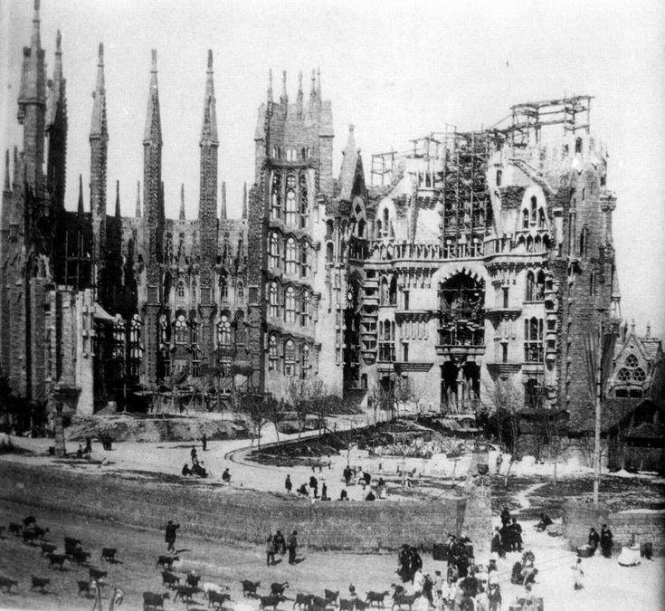 Sagrada Familia- Barcelona, historia en imágenes. - ForoCoches