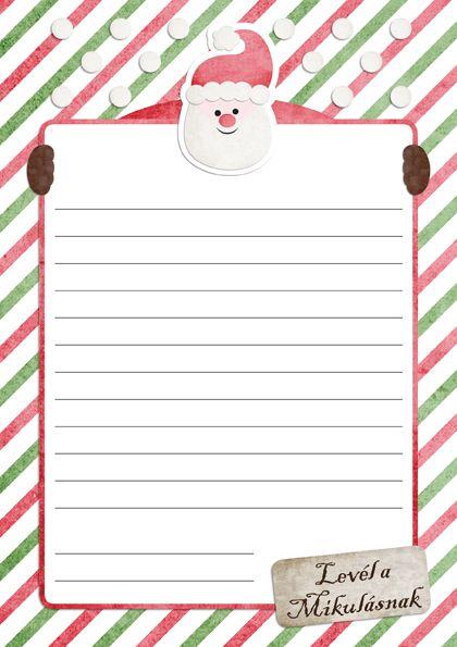 Letter to Santa - levél a Mikulásnak