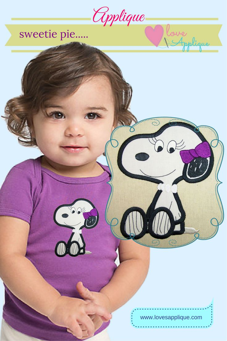 Snoopy Applique. Snoopy Characters. Snoopy and Peanuts, Snoopy Party Ideas. Snoopy Outfits. Snoopy T shirts. Disney Applique www.lovesapplique.com