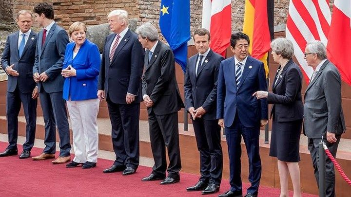 G7: Το ανακοινωθέν επιβεβαιώνει τη διαφωνία των ΗΠΑ για την κλιματική αλλαγή