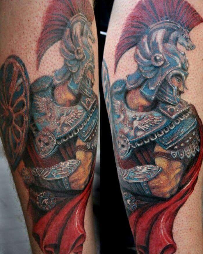 Soldato romano tattoo Veronica Rao