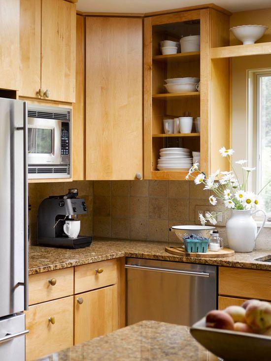 Cuisine Ikea Avec Ilot : Idees Modernes Pour Au Dessus Des Armoires De Cuisine (Orleans 32