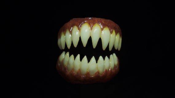 Penny Wise Sharp Teeth Etsy Sharp Teeth Dental Impressions Teeth Drawing
