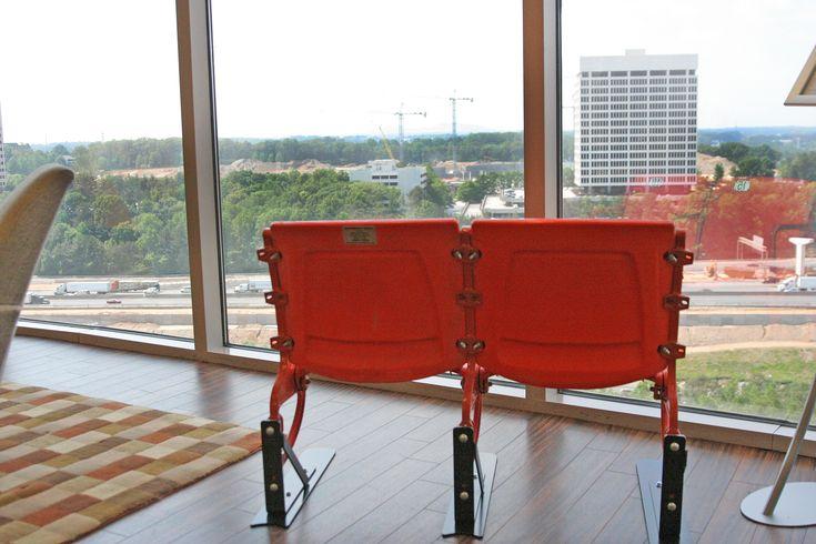 Metal Stadium Seats : Best images about memorabilia stadium seats on pinterest