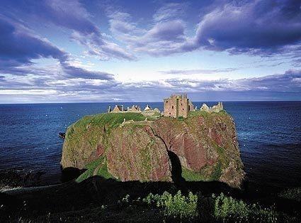 Dunnottar Castle, Stonehaven. Scotland