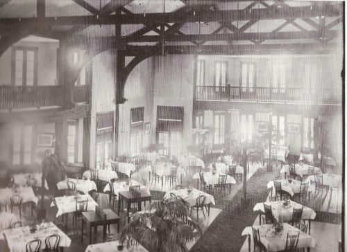 Royal Muskoka Hotel dining room - Credit: Frank W. Micklethwaite