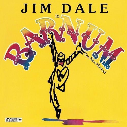 Jim Dale in Barnum - New Musical - CD 1980 CBS #MusicalOriginalCast