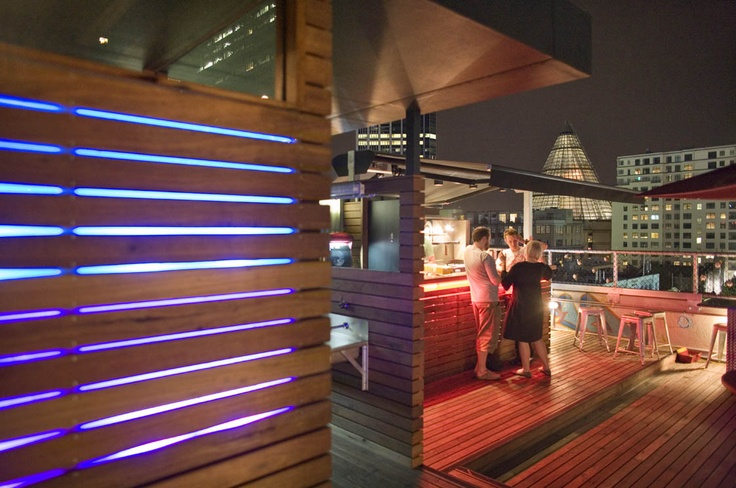 Rooftop Cinema & Bar, Curtin House, Melbourne By Grant Amon Architects