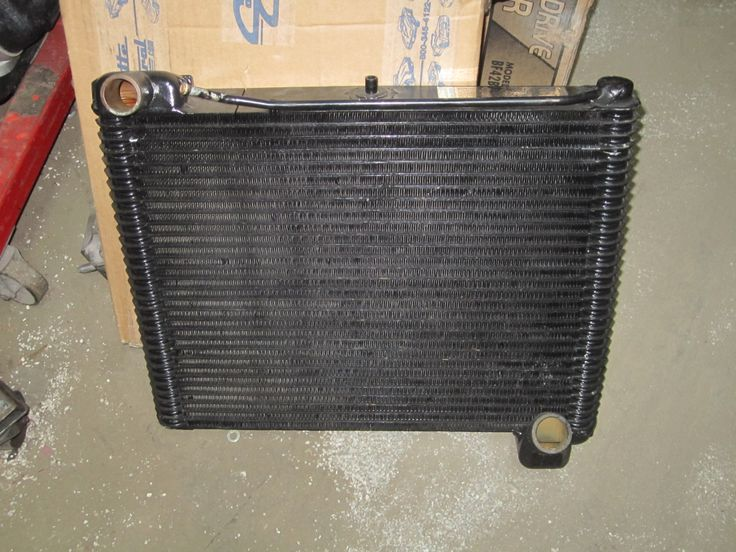 1961 Corvette Radiator Made Only For 61 Very Rare Interior