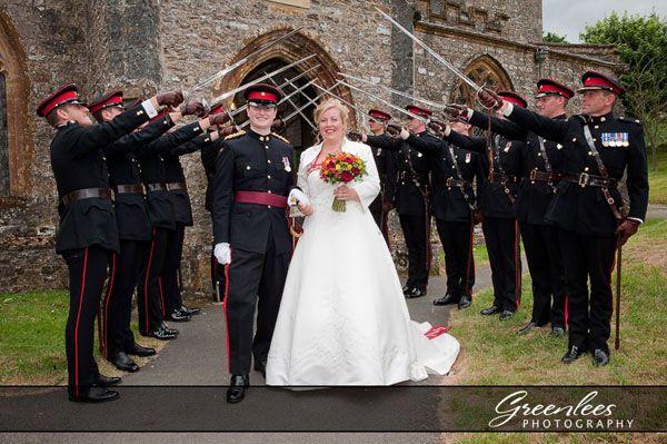 Inspiring Army Wedding