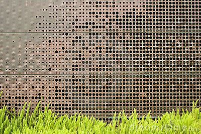 Perforated Metal Screen Garden Google Search Landscape