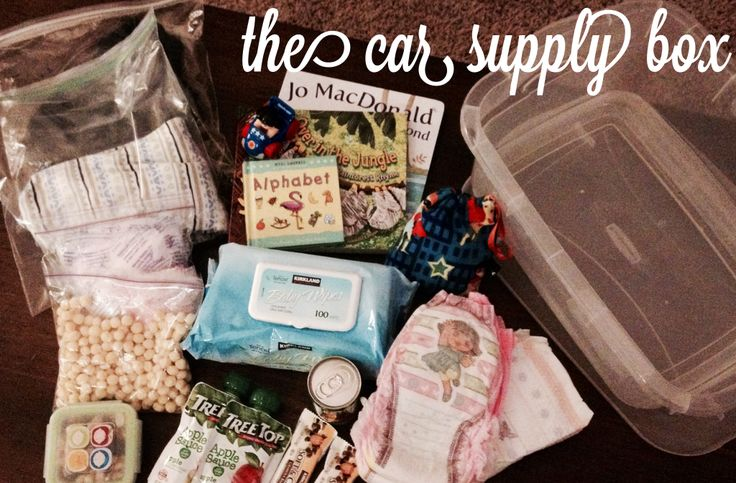 The Car Supply Box Every Parent Needs