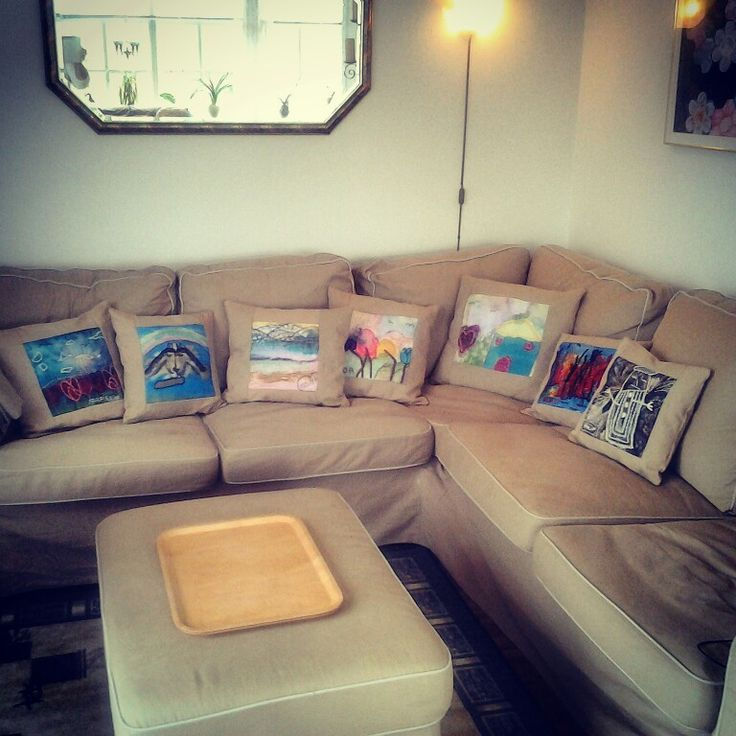 Made from my grandchildren paintings :-)