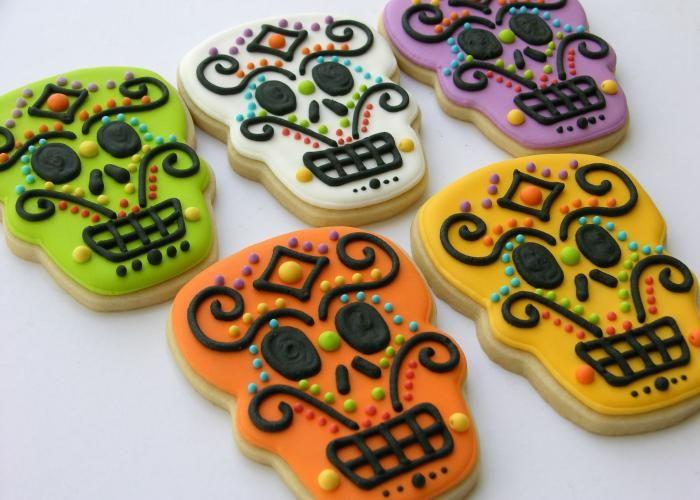 Bakerya | Galletas decoradas para día de muertos