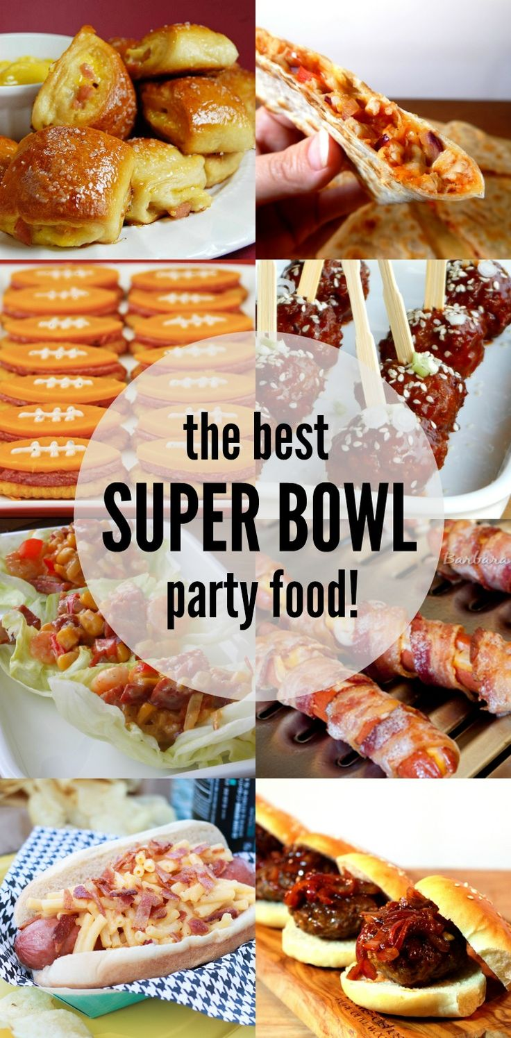 The BEST Super Bowl Party Food!