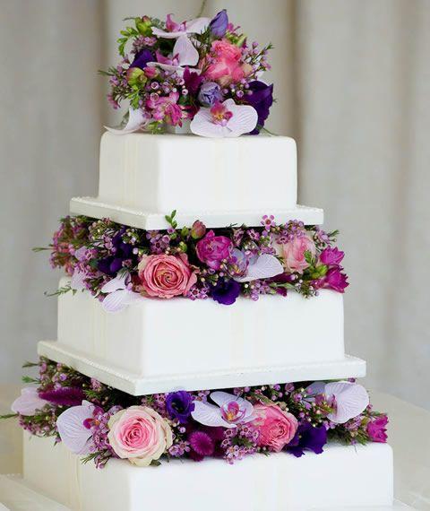 ponque de bodas con flores buscar con google