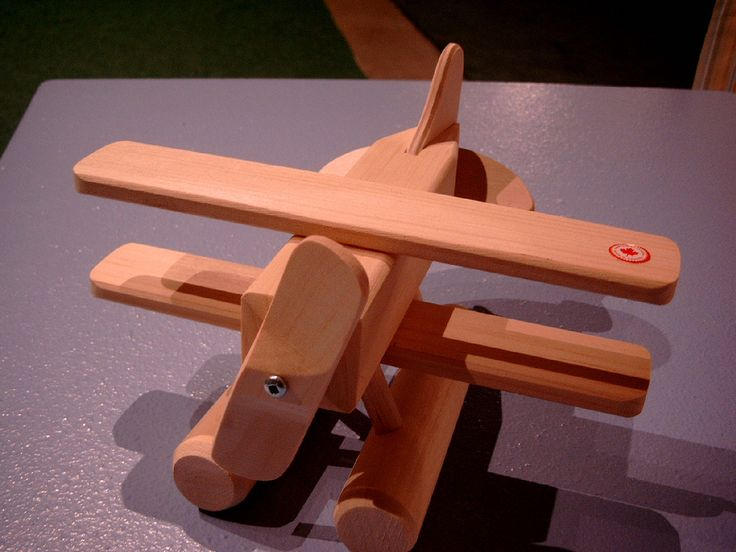 Wooden Bush Plane Toy.