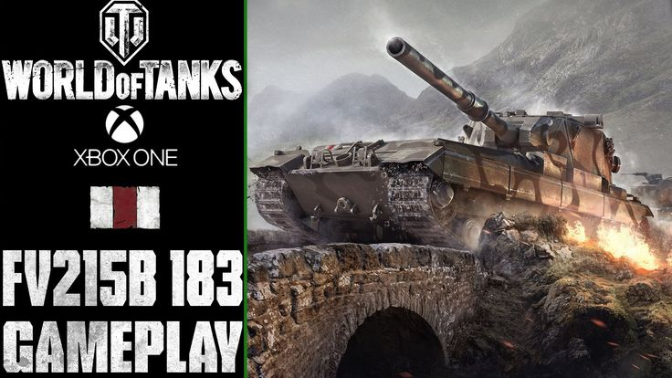 World of Tanks Xbox One: FV215b (183) aka DEATH STAR | Gameplay