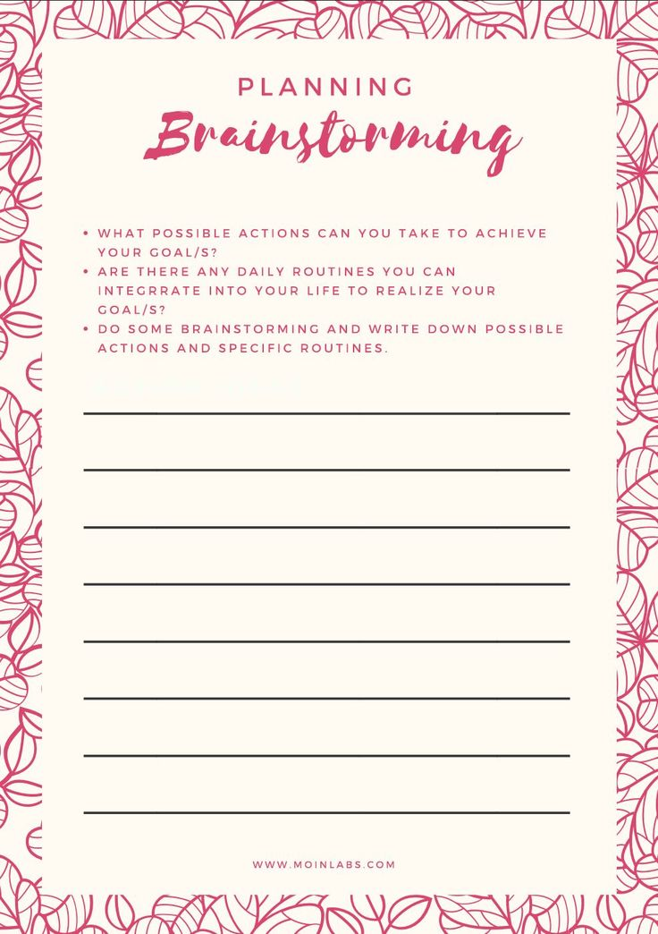 Free printables and goal setting tips...Join the free goal setting challenge and