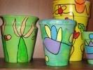 Met deze potten heeft de tuin ook in het najaar een vrolijk aangezicht.