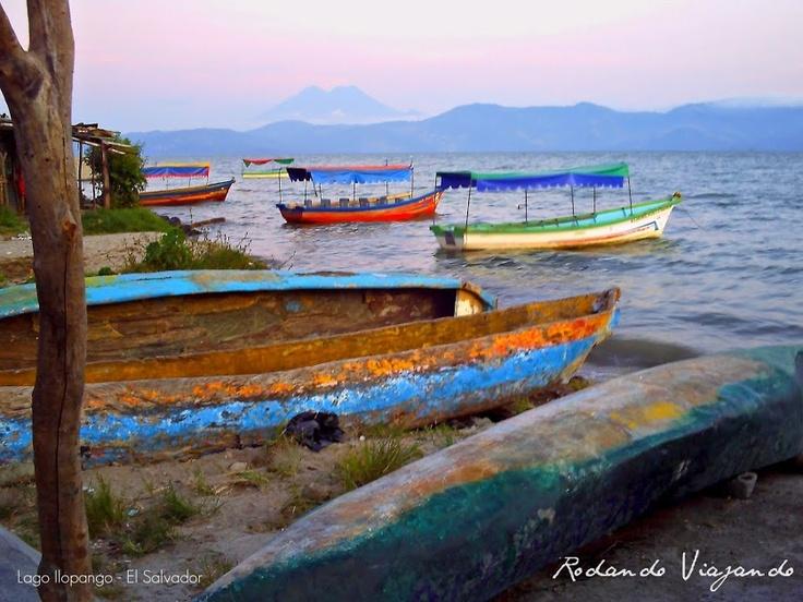 Lago Ilopango- El Salvador