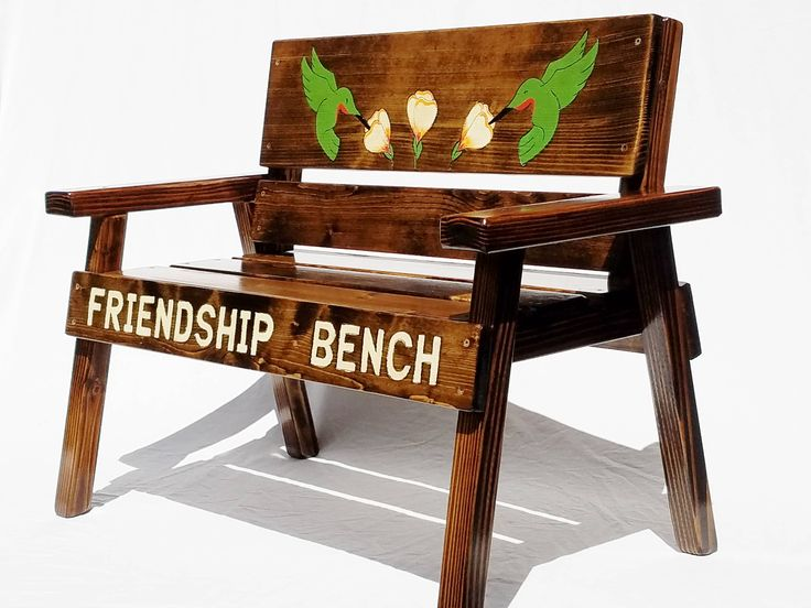indoor childrens kids art babys wood etsy folk on cottage friendship images furniture engraved happychairsandm country toddler bench farm outdoor patio best for decor garden pinterest