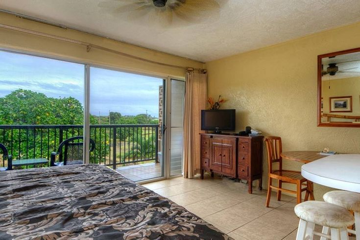 SOUTH: Prince Kuhio 335 ocean view studio in Koloa, Hawaii  $1,000