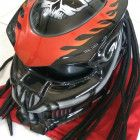 AWESAME !!! NEW DESIGN PREDATOR HELMET STREETFIGTER ORIGINAL CELLOS