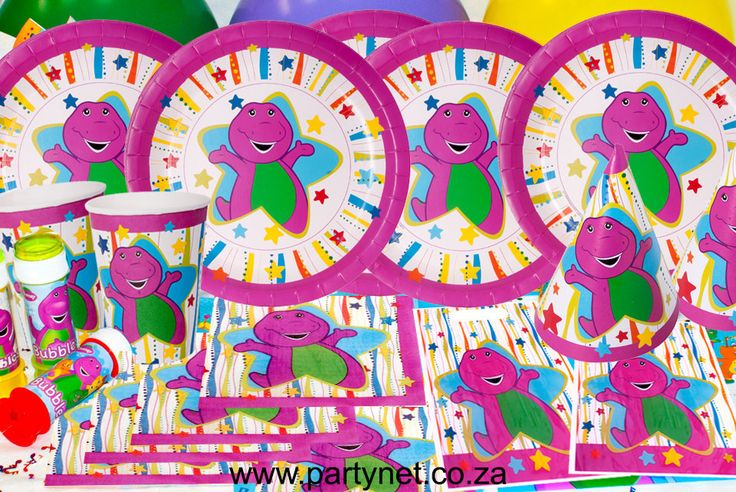 Barney Party Supplies, Ideas, Accessories, Decorations, Games - PartyNet