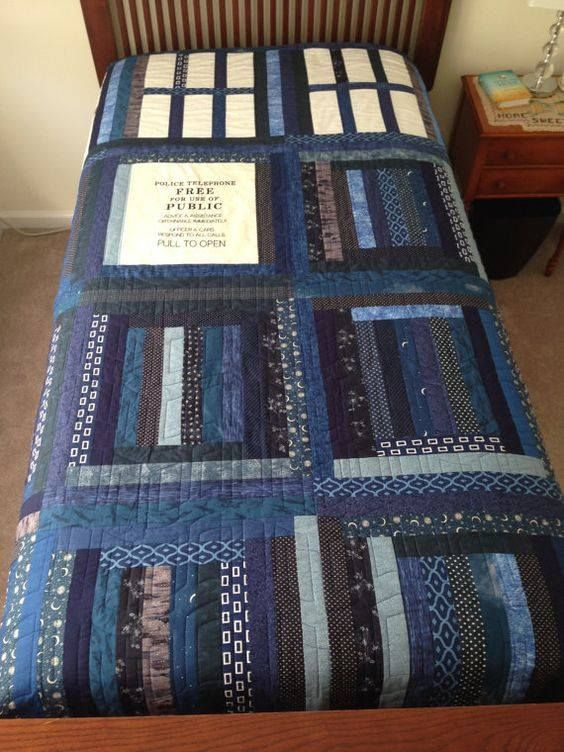 A Doctor Who Quilt- Brilliant!
