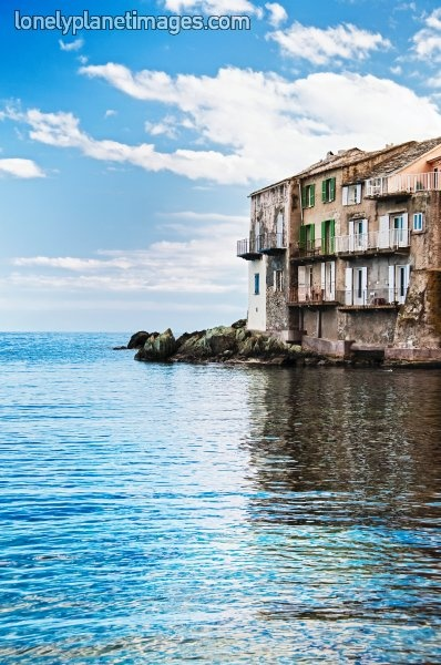 Snap of the day: houses on the harbour in Bastia, Corsica. By Karsten Bidstrup.