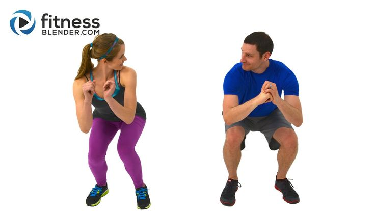 8 min (4) http://www.fitnessblender.com/v/workout-detail/Quick-Sweat-Cardio-Burst-Fast-Fat-Burning-Cardio-Workout-with-Kelli-Daniel/j1/