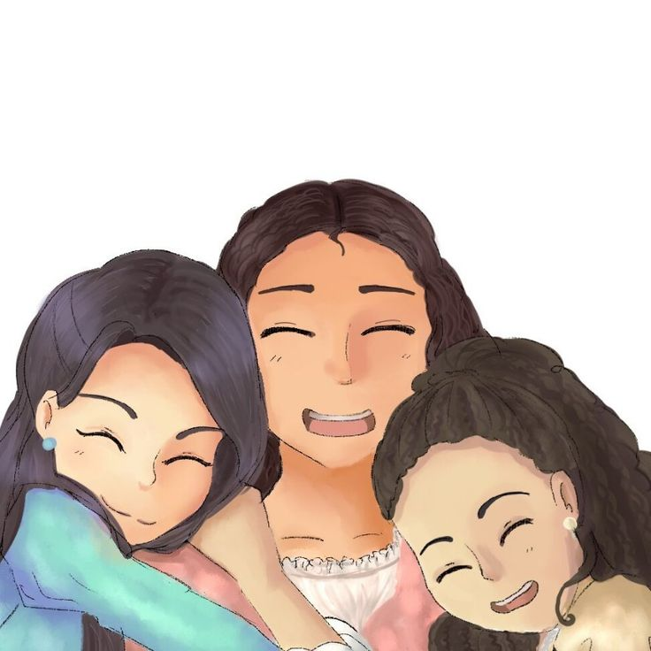 The Schuyler Sisters!!!❤️❤️❤️