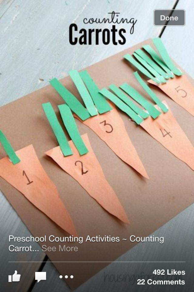 Carrot counting