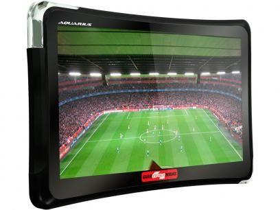 """GPS Automotivo Quatro Rodas Aquarius Tela 4,3"""" - Touch Screen com TV Digital Alerta de Velocidade com as melhores condições você encontra no Magazine Renanouro. Confira!"""