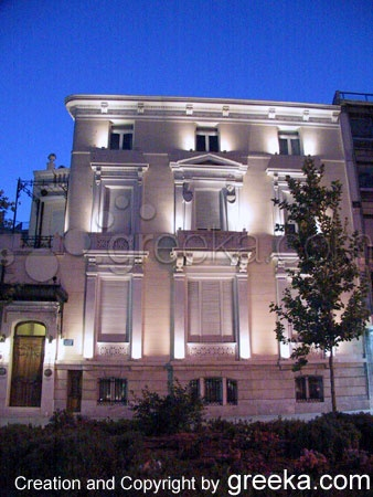 Neoclassical house in Plaka, Athens