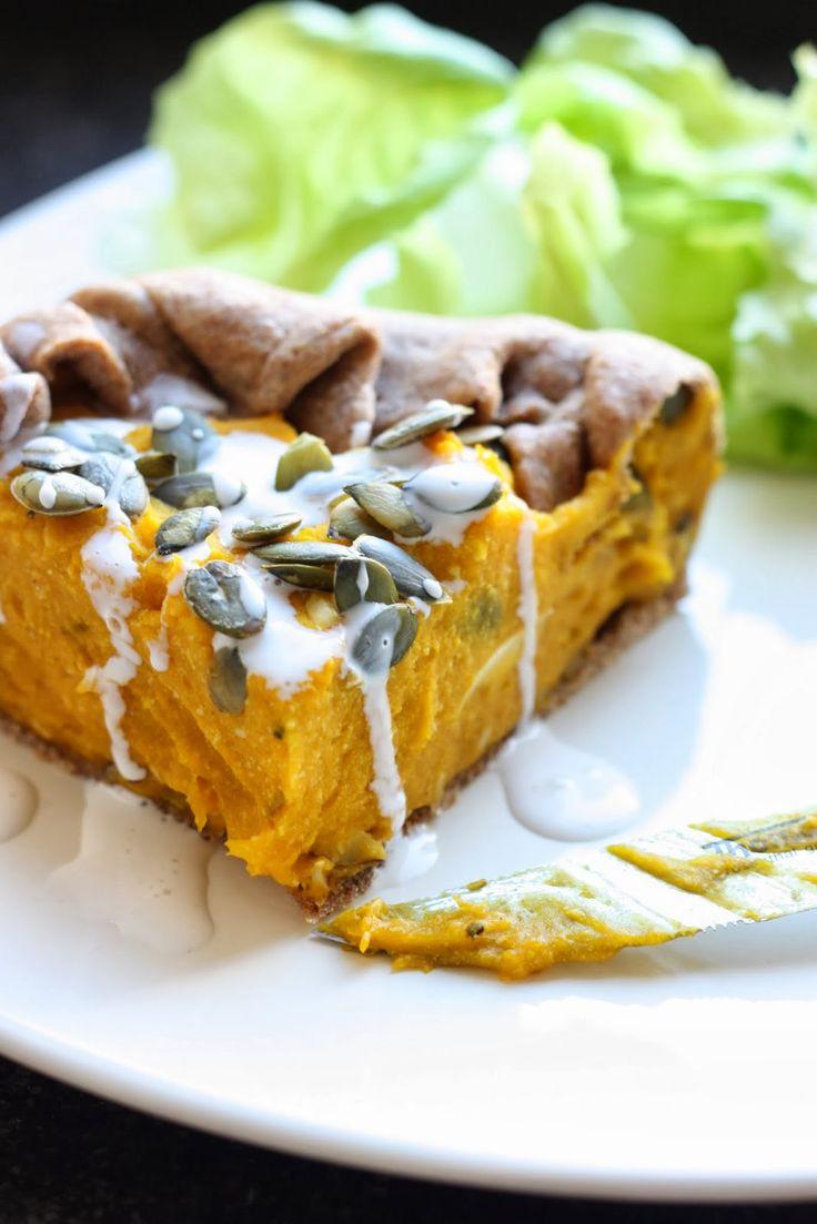 Les petits plats de Rose: Quiche potiron & tofu fumé [vegan]