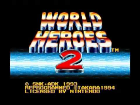 World Heroes 2 (SNES) Music - Credit Roll Download all my Soundtracks as MP3 here http://www.nes-snes-sprites.com/