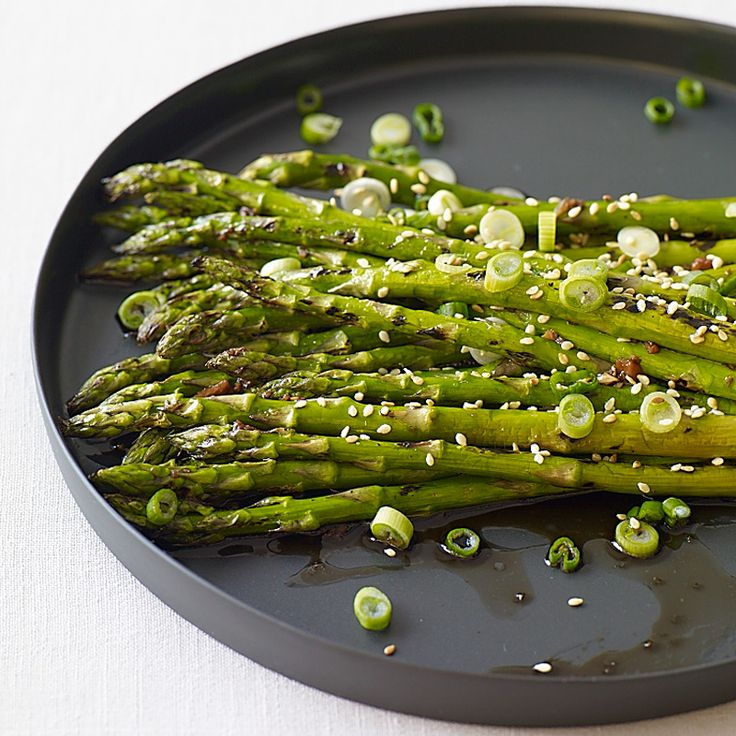 Grilled Sesame Asparagus Recipe | Weight Watchers