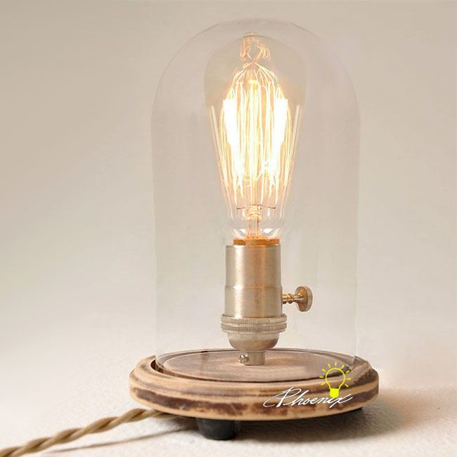 Antique edison clear glass table lamp 8220 browse project lighting and modern lighting fixtures for home use phx sells a variety of lights
