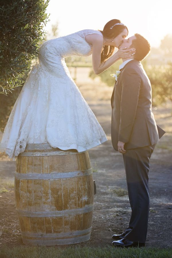 We will have a wine barrel!  We should incorporate it in some pictures.