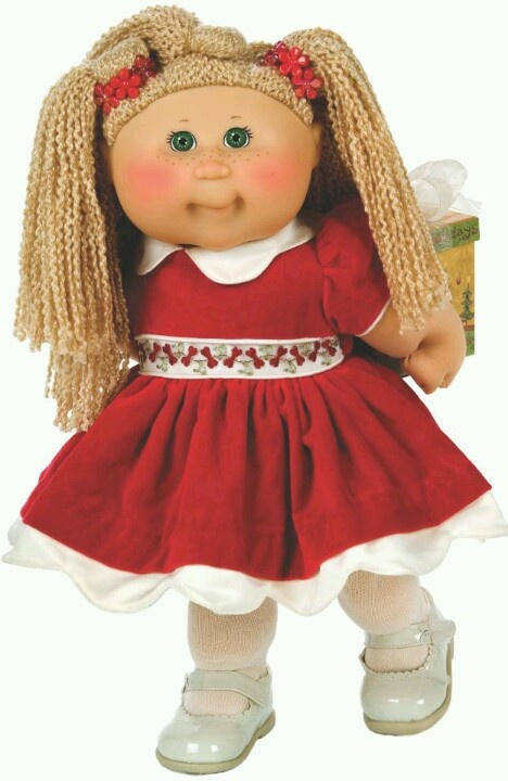 Cabbage Patch Set of 3 Holiday Costumed Snugglies - QVC