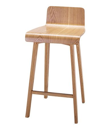 bar stool - also comes with white seat and wooden legs