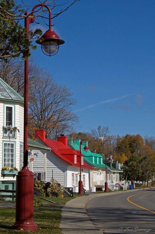 Temps des couleurs sur l'île-d'Orléans - Ile d Orleans, Quebec