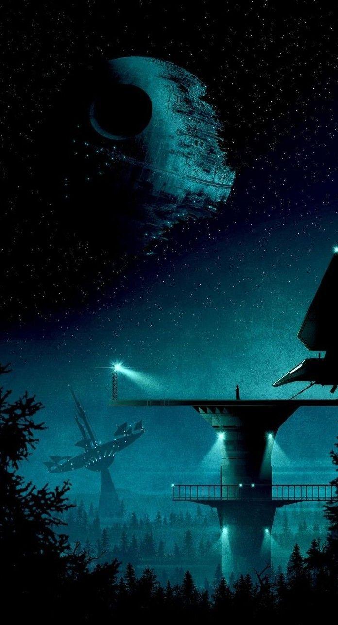 A Segunda Estrela Da Morte In 2020 Star Wars Death Star Star Wars Images Star Wars Background