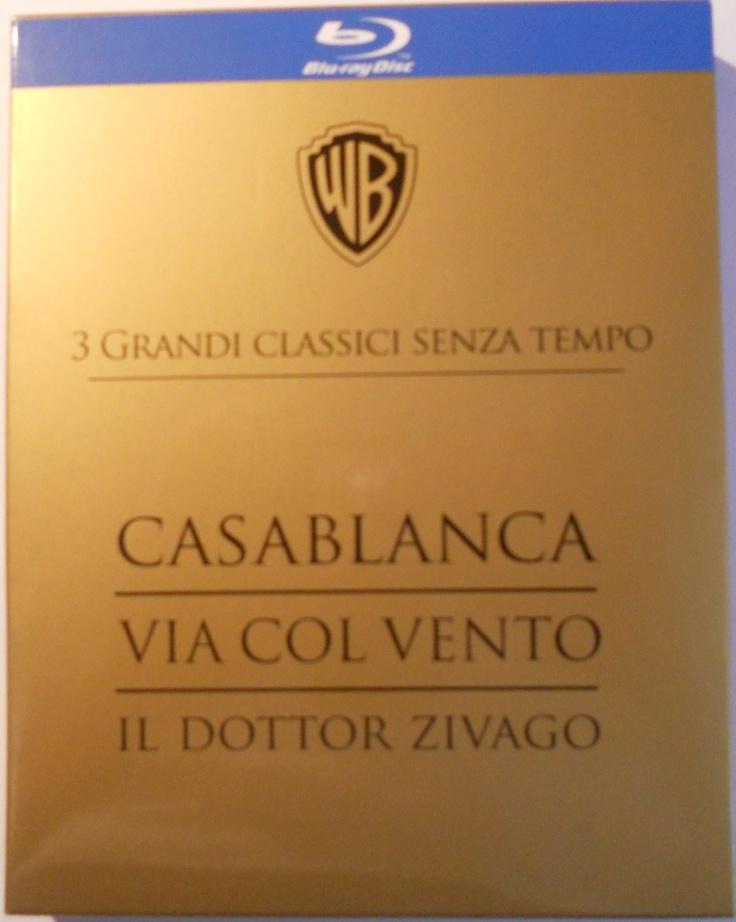 #Casablanca + Via col vento + Il dottor #Zivago