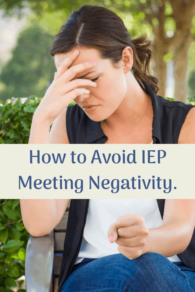 Addressing Special Needs Parents >> How To Avoid Iep Meeting Negativity Autism Sensory Iep Meetings