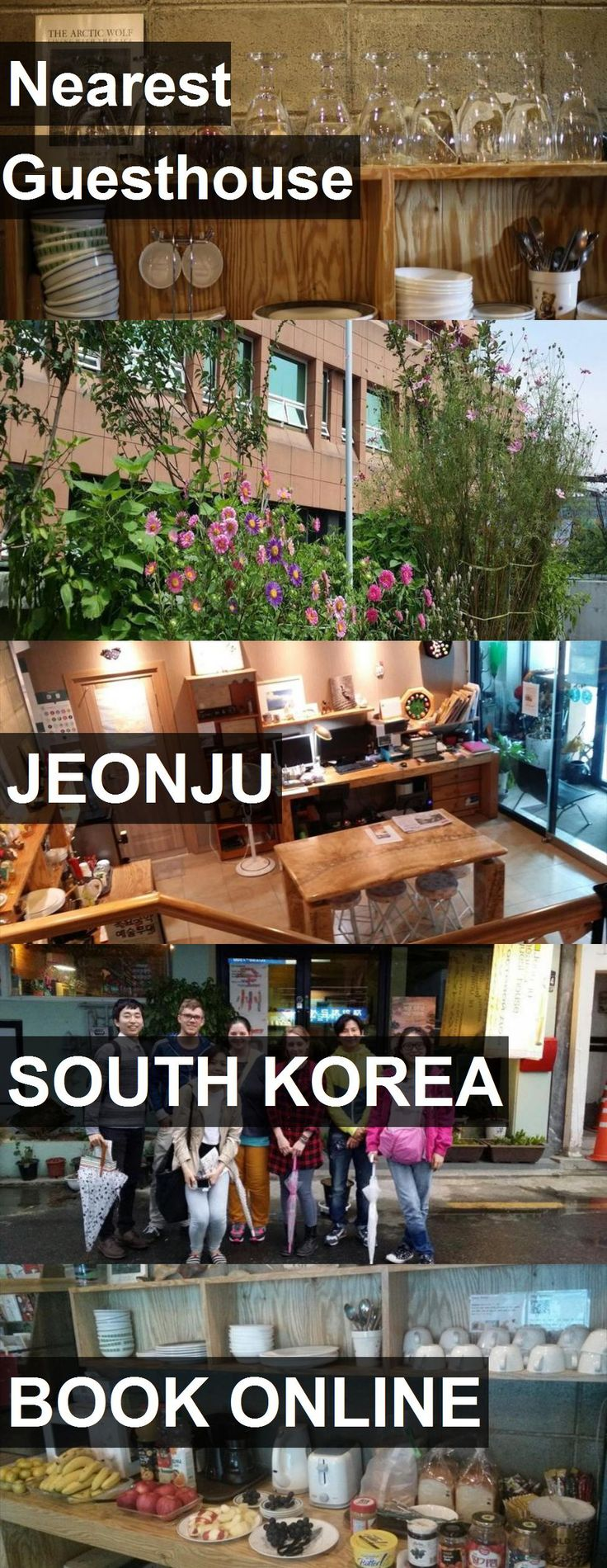 Hotel Nearest Guesthouse in Jeonju, South Korea. For more information, photos, reviews and best prices please follow the link. #SouthKorea #Jeonju #travel #vacation #hotel