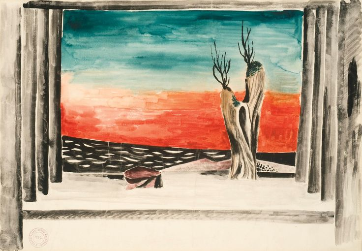 A. Wachsman - stage design/Roy and Mary Cullen collection