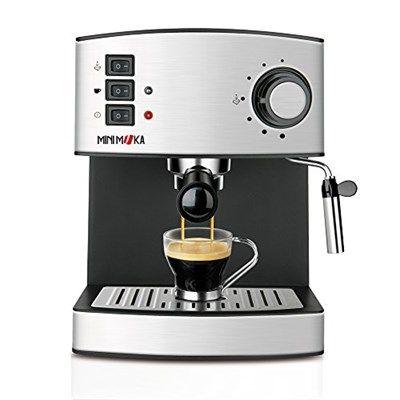 Chollo en Amazon España: Cafetera expreso Mini Moka CM-1821 por solo 69,95€ (un 46% de descuento del precio de venta recomendado y precio mínimo histórico)